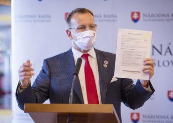 Predseda parlamentu Boris Kollár (Foto: SITA/Jana Birošová)