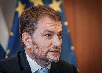 Predseda vlády SR Igor Matovič (Foto: SITA/Úrad vlády SR)