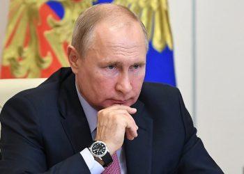 Vladimír Putin (foto SITA/AP/ Sputnik/Alexei Nikolsky)