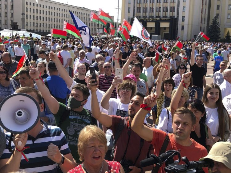 (Foto: SITA/(AP//Sergei Grits)