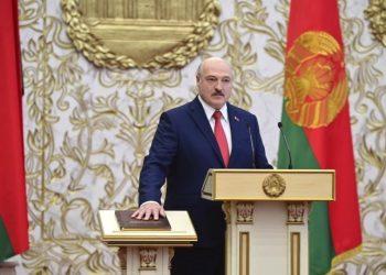 Alexandr Lukašenko (Foto: SITA/AP/Andrei Stasevich)