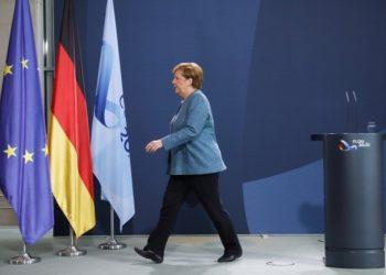 Angela Merkelová (Foto: SITA/AP/Markus Schreibe)