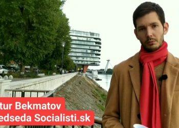 Artur Bekmatov (Foto z videa facebook.com/Artur Bekmatov)