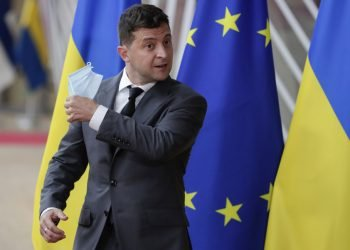 Volodymyr Zelenskyj (Foto: SITA/AP/Stephanie Lecocq)