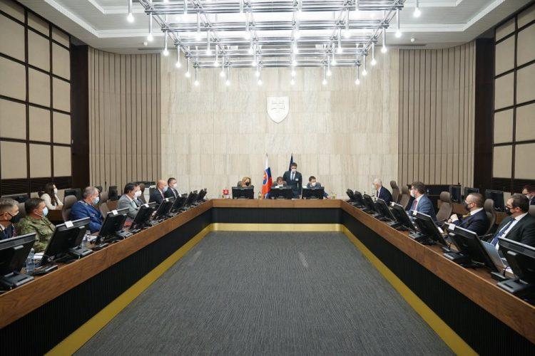Rokovanie 130. schôdze Bezpečnostnej rady (Foto: SITA/ÚV SR)
