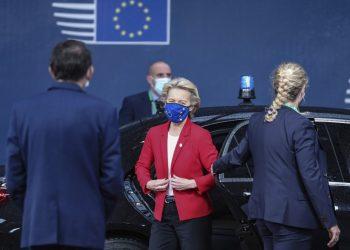 Ilustračný obrázok predsedníčka Európskej komisie Ursula von der Leyenová (Foto: SITA/AP/Aris Oikonomou)