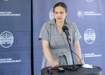 Ministerka spravodlivosti SR Mária Kolíková (Foto: SITA/Branislav Bibel)