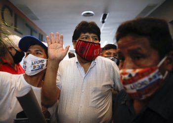 Evo Morales (Foto: SITA/AP/Natacha Pisarenko)