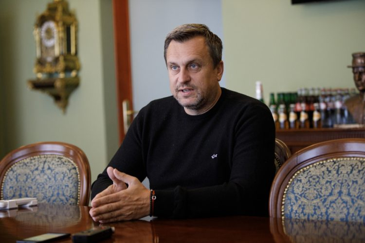 Predseda Slovenskej národnej strany Andrej Danko (Foto: SITA/Branislav Bibel)