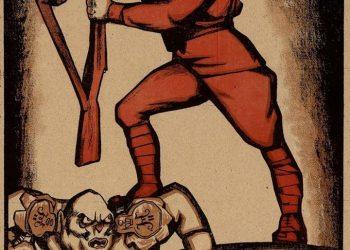 """(Ilustrácia: Plagát sovietskej kampane """"Krym musí byť červený"""". Zdroj: Archív ČA, Ruská federácia)"""