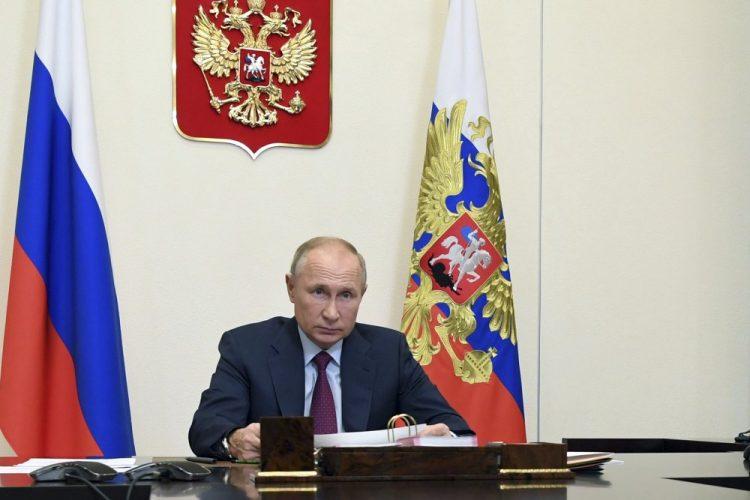 (Foto: SITA/Alexei Nikolsky, Sputnik, Kremlin Pool Photo via AP)