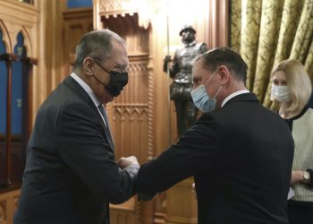 (Foto: SITA/AP/Russian Foreign Ministry Press Service)