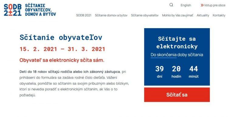 (Foto obrazovky: scitanie.sk)