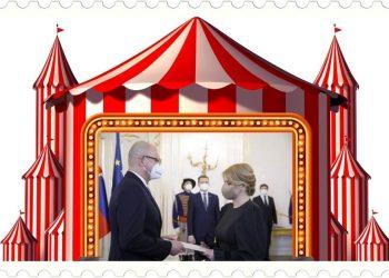 Nech tento sulíkovsko-matovičovský cirkus dopadne akokoľvek, v každom prípade sa im darí aspoň na čas prekrývať svoju neschopnosť riadiť tzv. pandémiu a štát (Koláž: SITA/Canva)