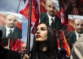 (Foto: SITA/AP Photo/Pavel Golovkin)