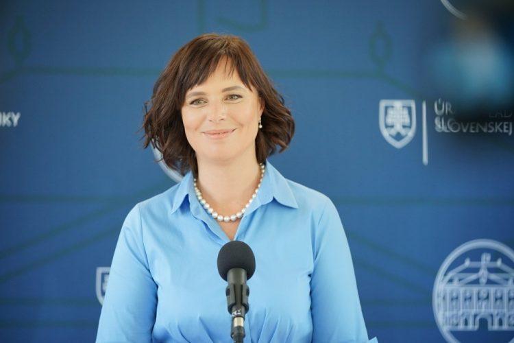 Podpredsedníčka vlády Veronika Remišová  (Foto: SITA/Úrad vlády SR)