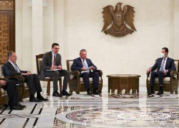 Rusko mieni aj naďalej podporovať súčasné sýrske vedenie, ktoré považuje za legitímne (Foto: SITA/AP/Russian Foreign Ministry Press Service)