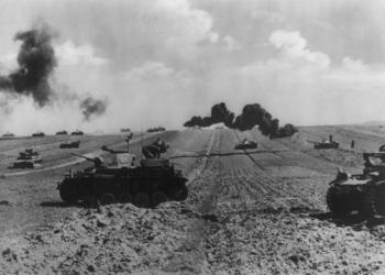 II. svetová vojna. Nemecké tanky na Ukrajine (Foto: Canva/The Everett Collection)