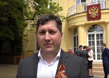 Kultúrny atašé Vladislav Kulikov (Foto z videa: VIDEOPRESSAGENCY)