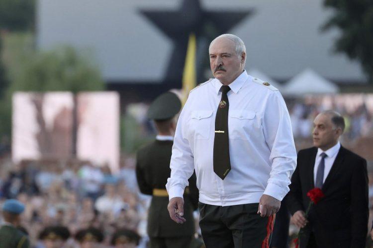 Bieloruský prezident Alexandr Lukašenko (Foto: SITA/AP/Maxim Guchek/BelTA Pool Photo)