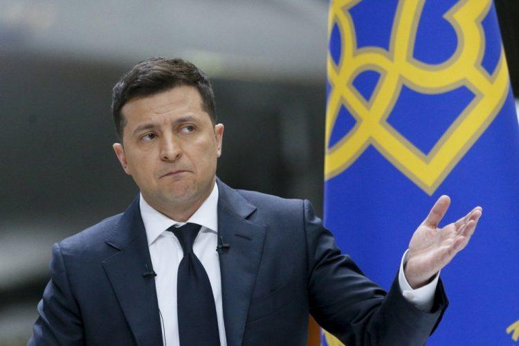 Volodymyr Zelenskij (Foto: SITA/AP Photo/Efrem Lukatsky)