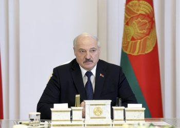 (Video: (Foto: SITA/AP/Nikolay Petrov/BelTA Pool Photo)