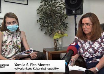 Jej Excelencia Yamila Sonia Pita Montesová (Foto z videa: VIDEOPRESSAGENCY)