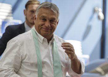 Viktor Orbán (Foto: SITA/AP/Stephanie Lecocq, Pool Photo)