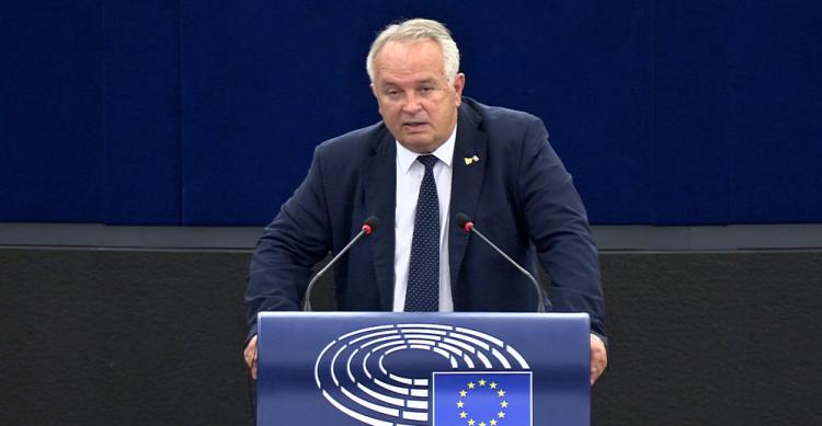 Miroslav Radačovský (Foto z videa: europarl.europa.eu)