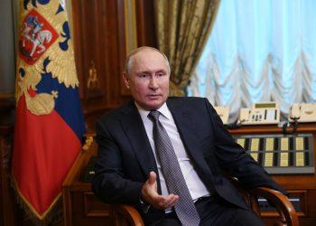 Vladimir Putin (Foto: SITA/AP/(Alexei Nikolsky, Sputnik, Kremlin)