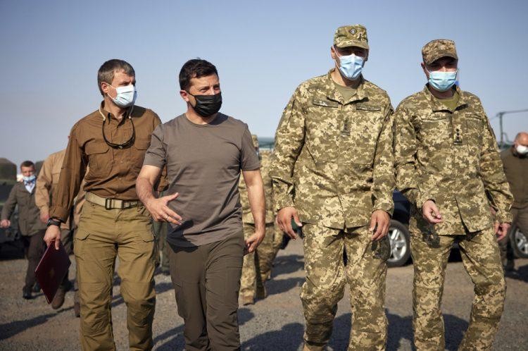 (Foto: SITA/AP/Ukrainian Presidential Press Office)