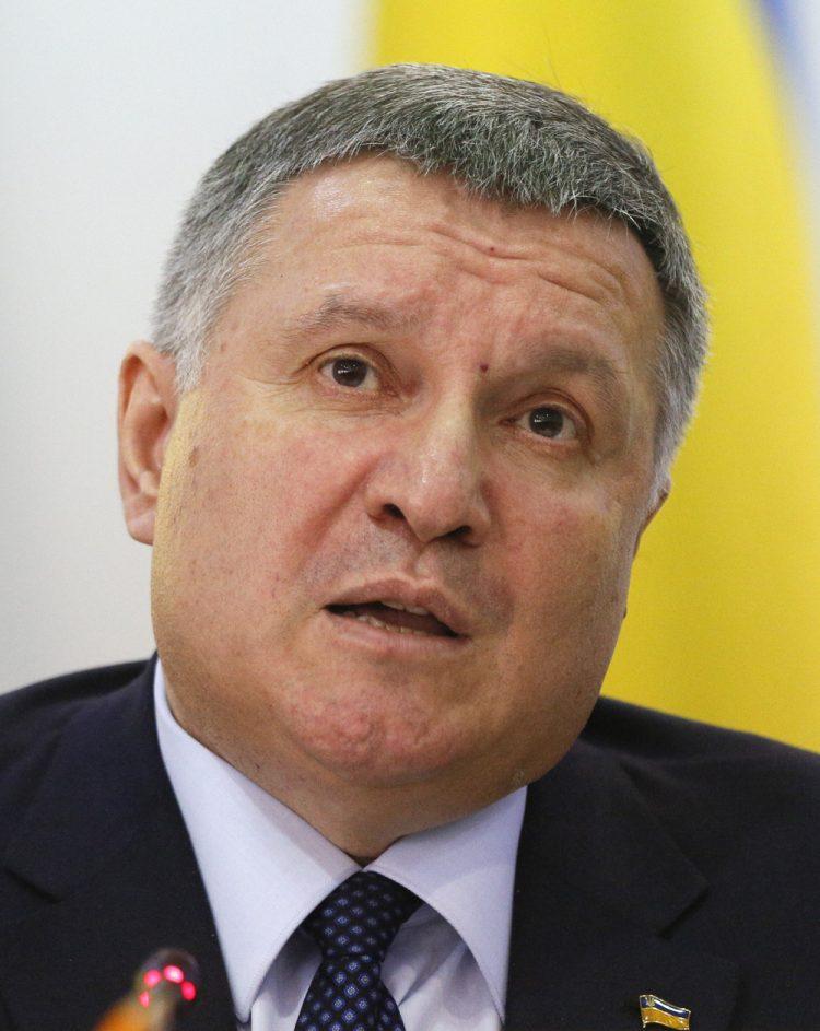 Arsen Avakov (Foto: SITA/AP Photo/Efrem Lukatsky)