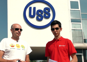 Juraj Varga s Arturom Bekmatovom (Foto z videa)
