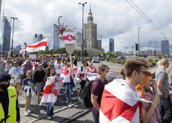 (Foto: SITA/AP Photo/Czarek Sokolowski)