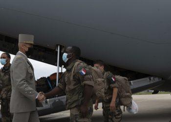 (Foto: SITA/AP/Etat Major des Armees)