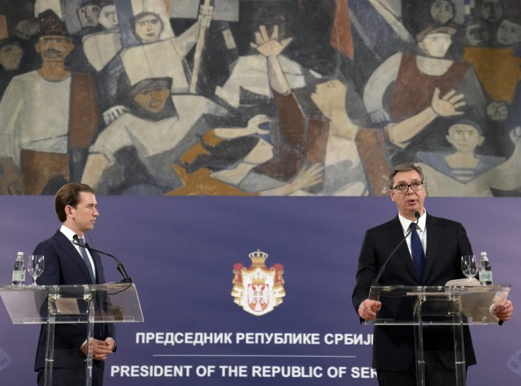 (Foto: SITA/AP Photo/Darko Vojinovic)